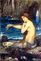 one of the young girls had to wear the necklace on her neck and swim in the river with the pearls on for 101 nights